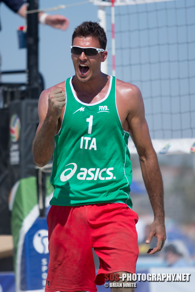 Alex Ranghieri at 2013 FIVB Long Beach Grand Slam