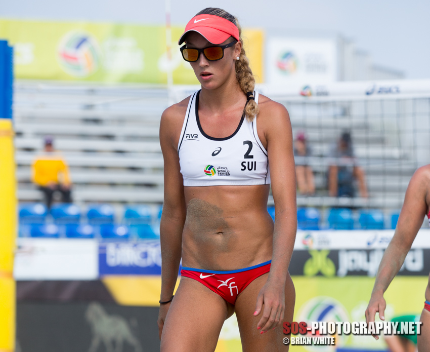 Anouk Vergé-Dépré at 2015 FIVB Long Beach Grand Slam