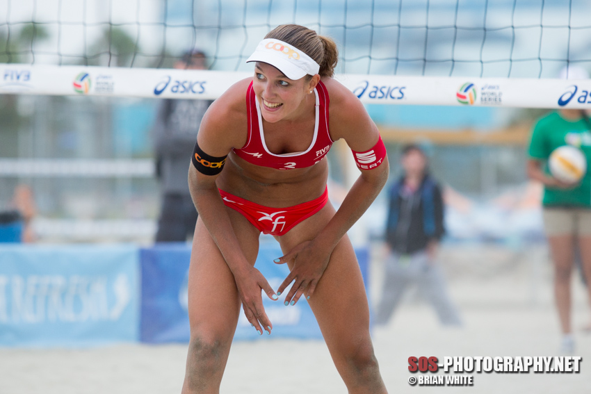 Anouk Vergé-Dépré at 2013 FIVB Long Beach Grand Slam