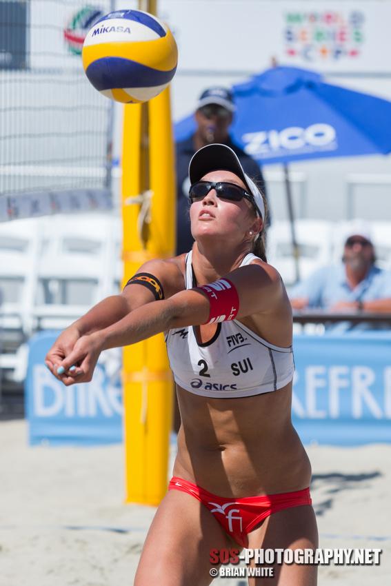 Anouk Vergé-Dépré at 2013 FIVB Long Beach Grand Slam