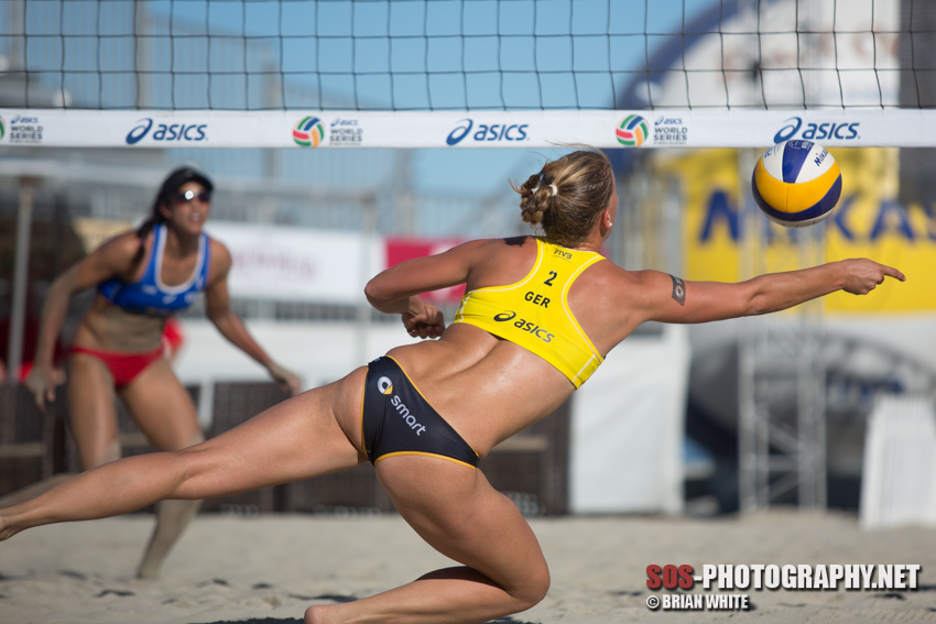 Britta Büthe at 2014 FIVB Long Beach Grand Slam