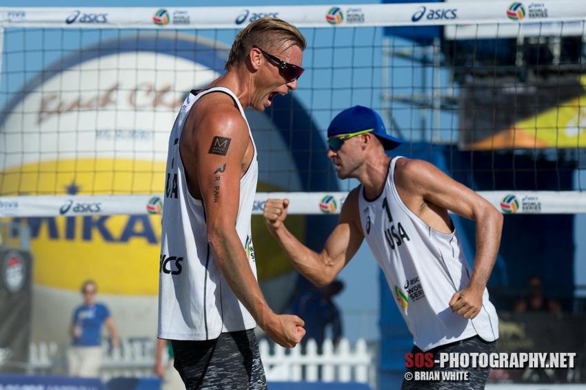 Casey Patterson at 2015 FIVB Long Beach Grand Slam