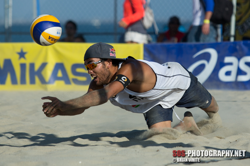 Daniele Lupo at 2015 FIVB Long Beach Grand Slam