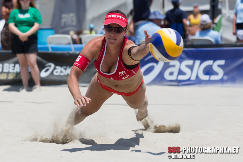 Isabelle Forrer at 2013 FIVB Long Beach Grand Slam