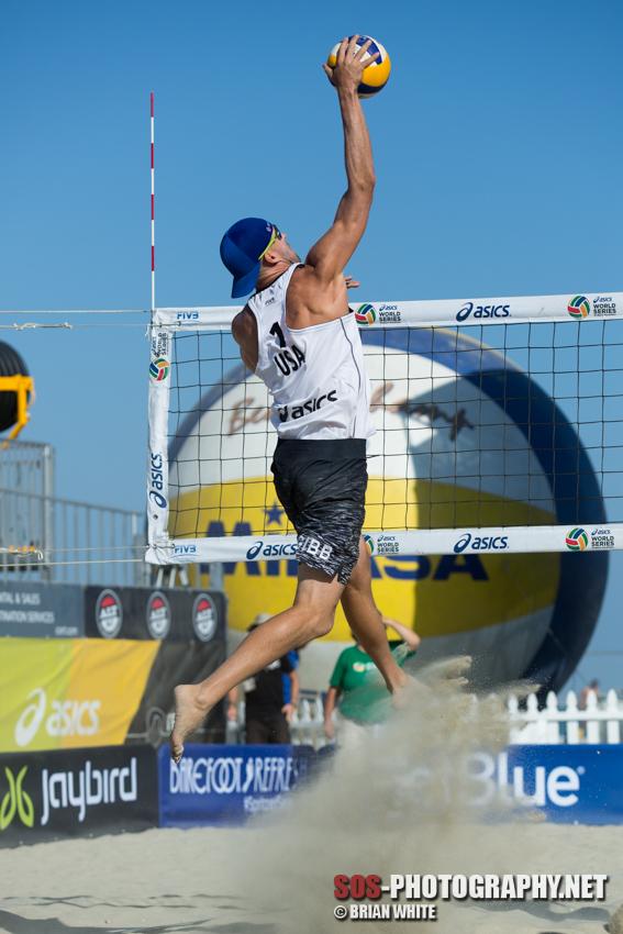 Jake Gibb at 2015 FIVB Long Beach Grand Slam