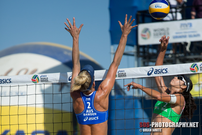 Talita Antunes at the 2015 FIVB Long Beach Grand Slam