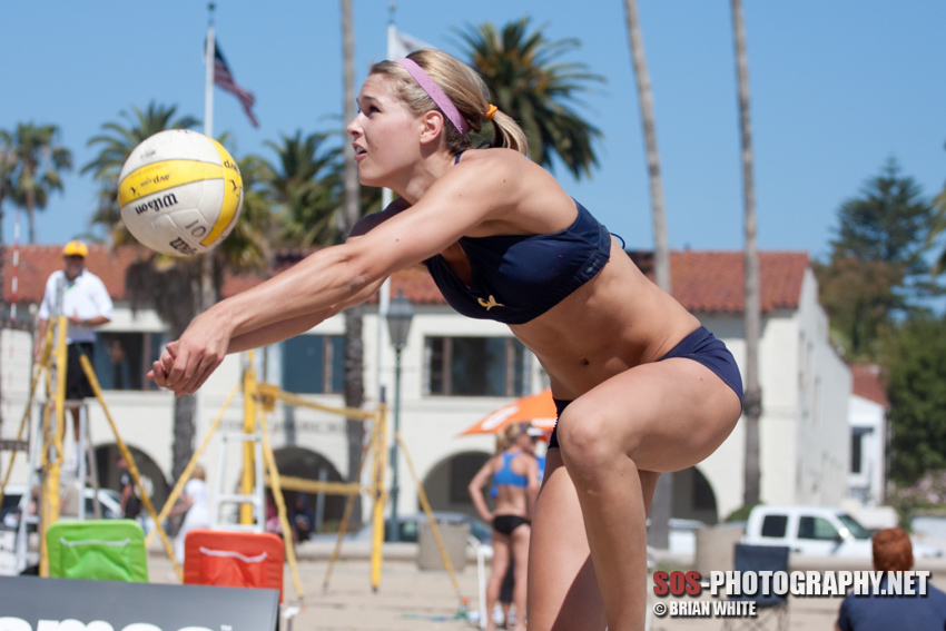 Morgan (Beck) Miller at 2010 Alt Games Collegiate Beach Championships