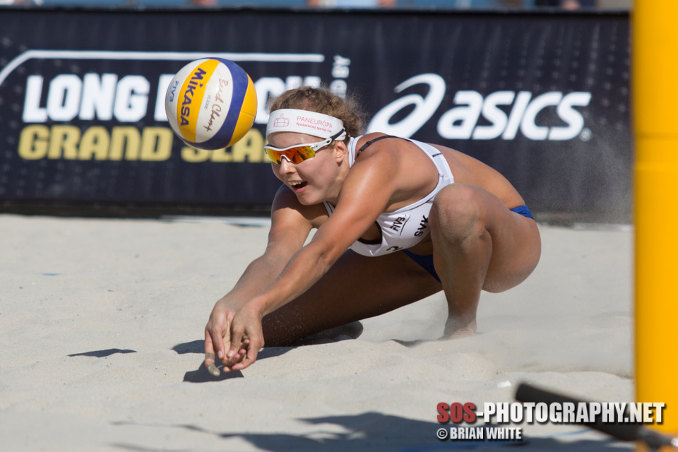 Natalia Dubovcova at 2013 FIVB Long Beach Grand Slam