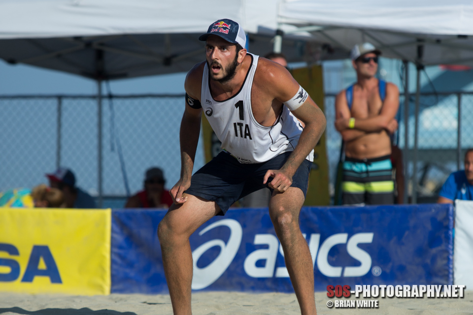 Paolo Nicolai at 2015 FIVB Long Beach Grand Slam