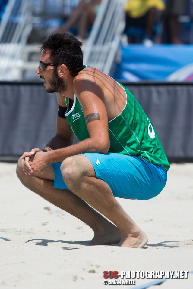 Paolo Nicolai at 2013 FIVB Long Beach Grand Slam