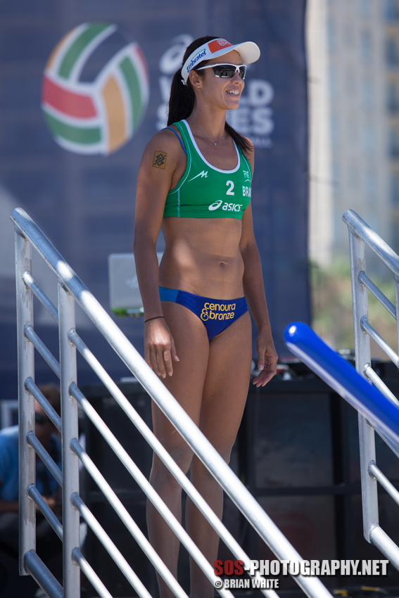 Talita Antunes at the 2013 FIVB Long Beach Grand Slam