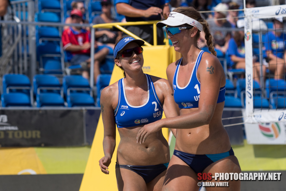 Betsi Flint and Kelley Larsen (USA)