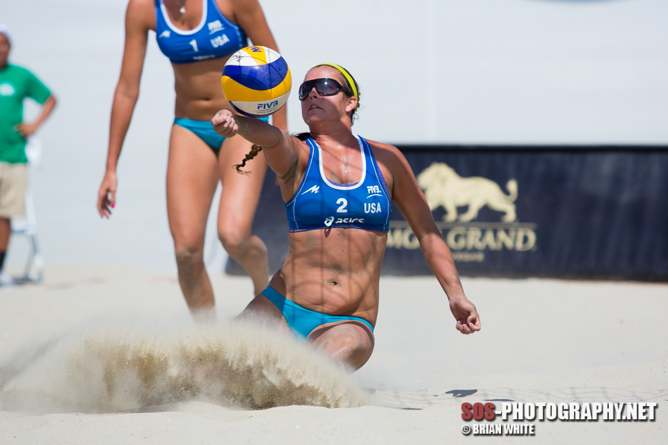 Brooke Sweat at 2013 FIVB Long Beach Grand Slam