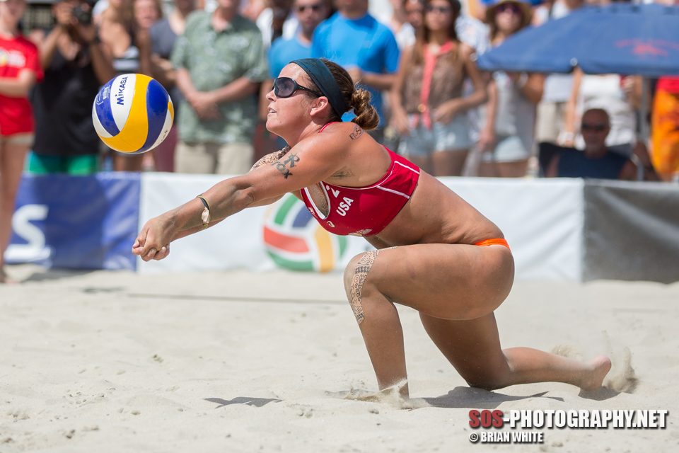 Brooke Sweat at 2014 FIVB Long Beach Grand Slam