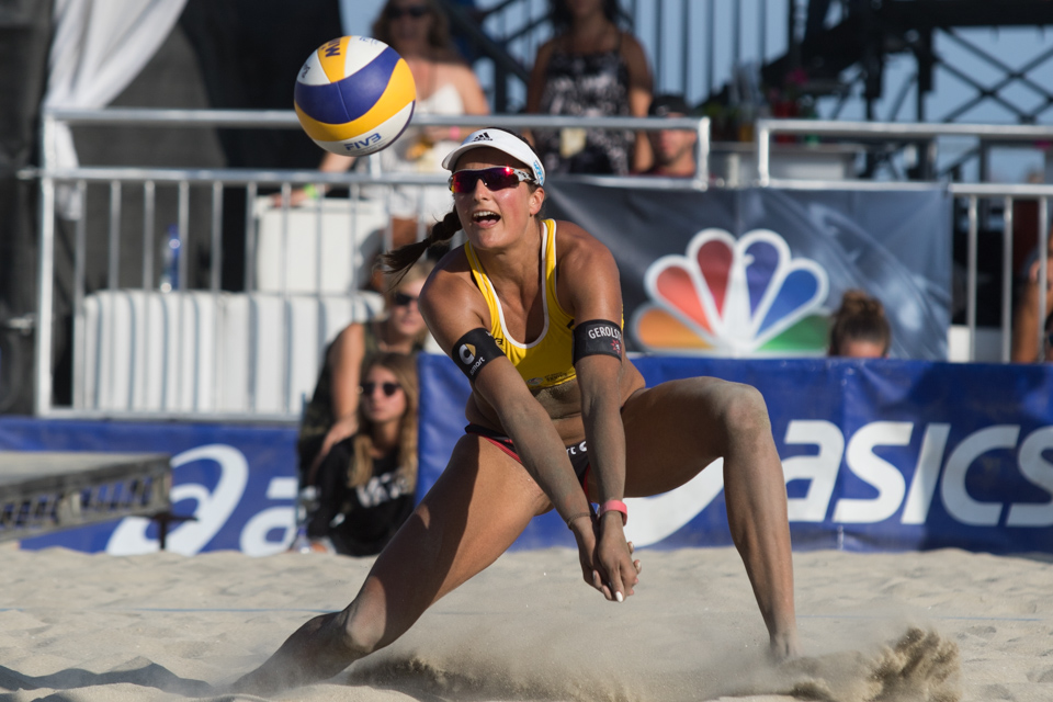 Ilka Semmler at 2016 FIVB Long Beach Grand Slam