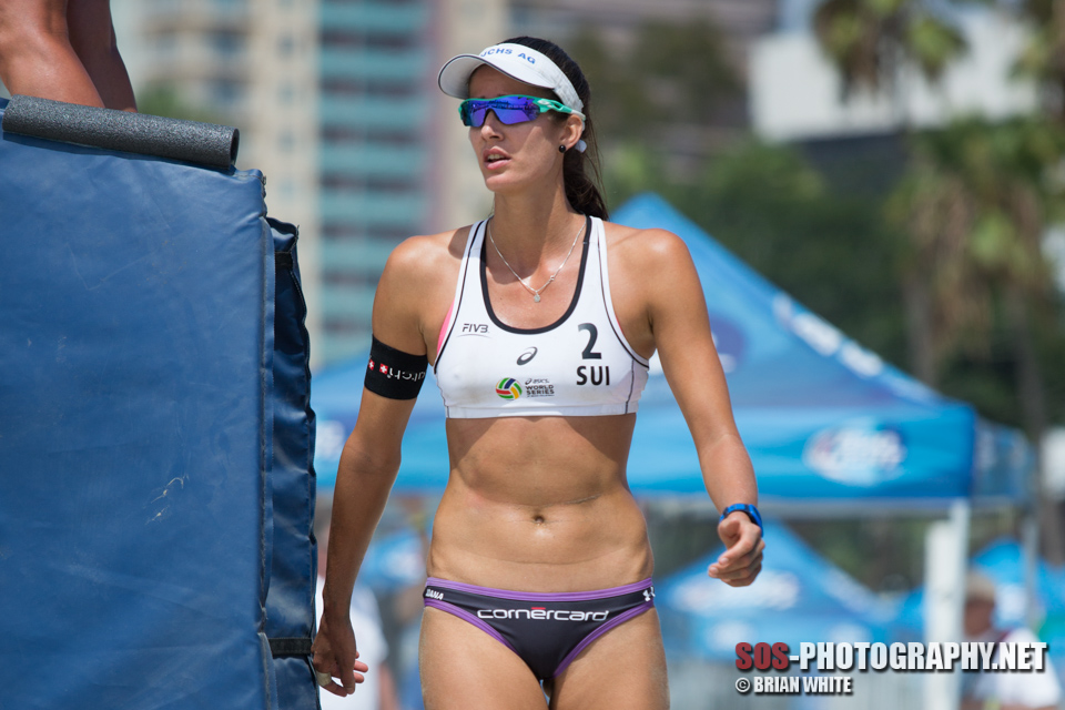 Joana Heidrich at 2015 FIVB Long Beach Grand Slam