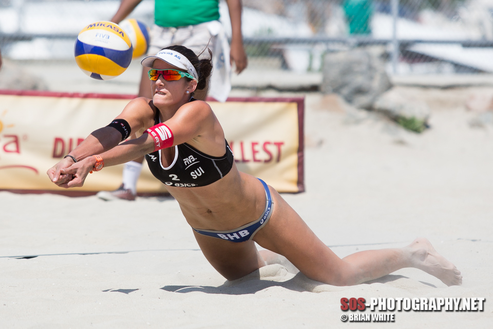 Joana Heidrich at 2013 FIVB Long Beach Grand Slam