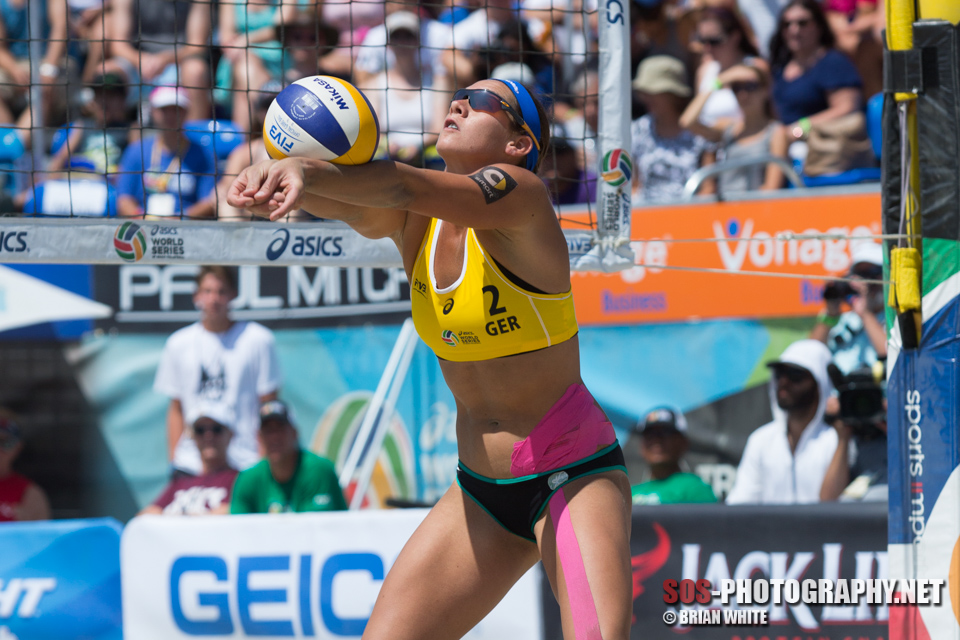 Kira Walkenhorst at 2015 FIVB Long Beach Grand Slam