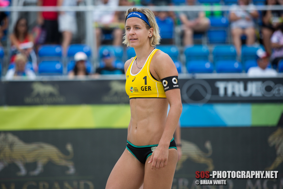 Laura Ludwig at 2015 FIVB Long Beach Grand Slam