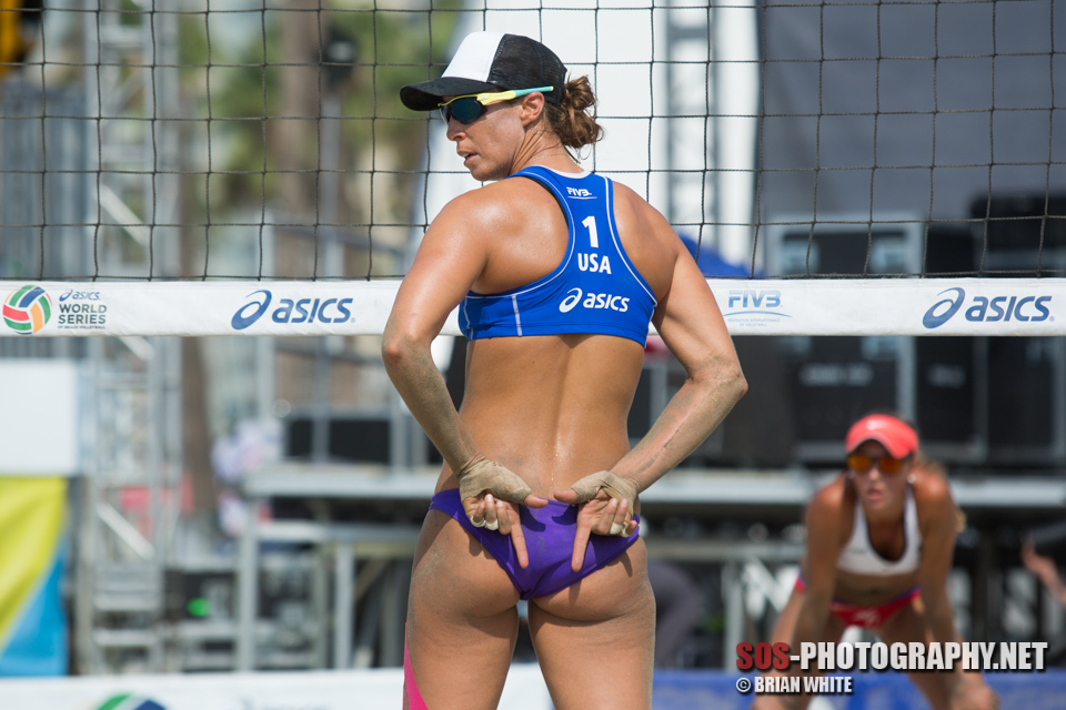 Lauren Fendrick at 2015 FIVB Long Beach Grand Slam