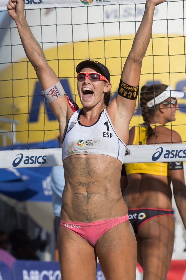 Liliana Fernandez Steiner at 2016 FIVB Long Beach Grand Slam