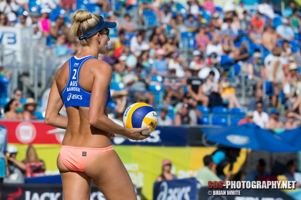 Louise Bawden at 2015 FIVB Long Beach Grand Slam