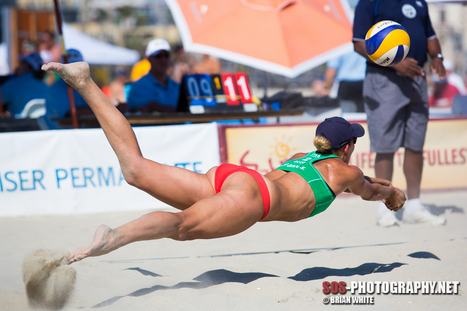 Louise Bawden at 2013 FIVB Long Beach Grand Slam