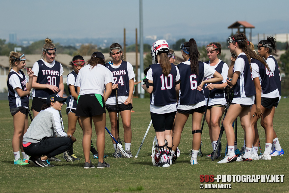 Tesoro High School vs Corona Wave A lacrosse