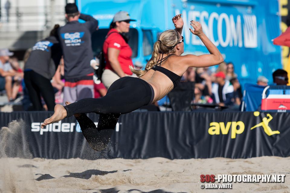 Branagan Fuller shows perfect form at AVP Huntington Beach