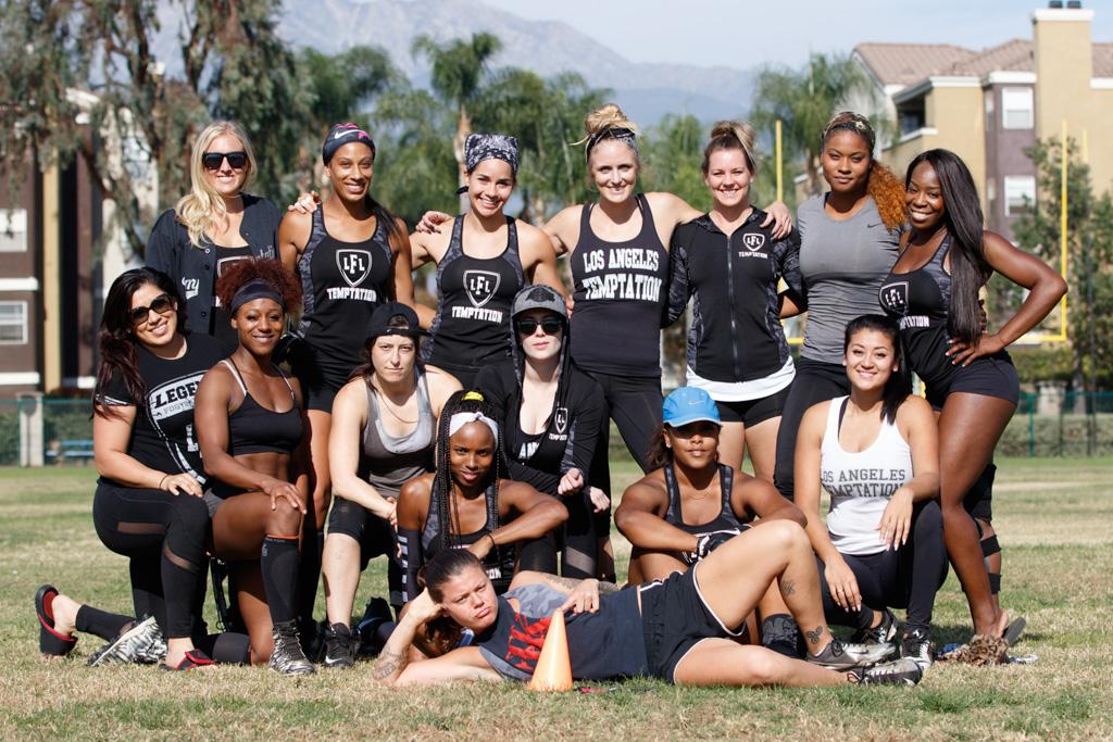 Los Angeles Temptation Team Photo