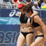 Kerri Walsh Jennings and Nicole Branagh